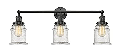 Innovations Lighting 3 Light Vintage Dimmable LED Canton 30 inch Bathroom Fixture