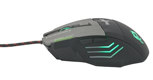 Dragonwar ELE-G9 Thor BlueTrack and Blue Sensor Gaming Mouse with Macro Function
