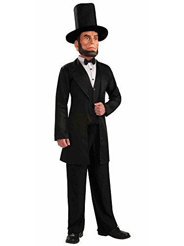 President Abraham Lincoln Costume Mask Adult Standard -