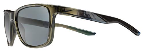 Nike Men's Unrest Se Rectangular Sunglasses, Crystal Cargo Khaki/Melbourne, 57 ()