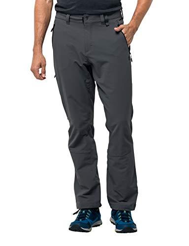 Jack Wolfskin Men's Activate XT Pants, Dark Iron, 98 (US 33/34)