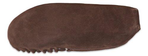 Nordvek - Damen Mokassin-Hausschuhe aus 100 % Schaffell mit weicher Sohle aus Veloursleder - # 429-100 Schokoladenbraun