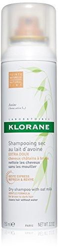 Klorane Dry Shampoo With Oat Milk - Natural Tint - Brunettes , 3.2 fl. oz.