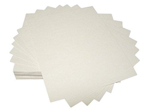 (50 11x14 UNCUT mat matboard Cream Color)