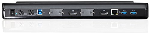 Targus Universal Dual Video 2K Laptop Docking Station with Charging Power, Audio, & 4 USB 3.0 Ports for PC, Mac, & Android (ACP77USZ) by Targus (Image #4)