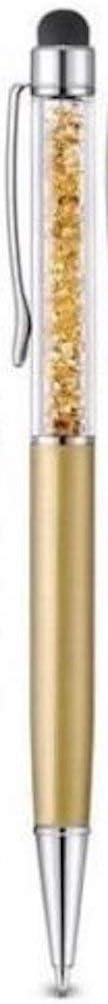 BABYROSA Hochwertiger kapazitiver 2-in-1-Touchscreen-Stift und Kugelschreiber mit Kristallen Stift beutel und Stift Nachf/üllung enthalten