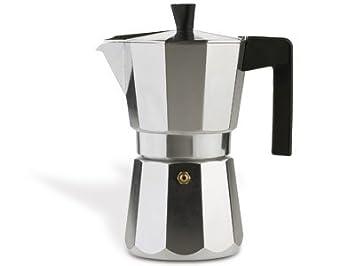 Valira Vitro Cafetera 3 Tazas, Aluminio