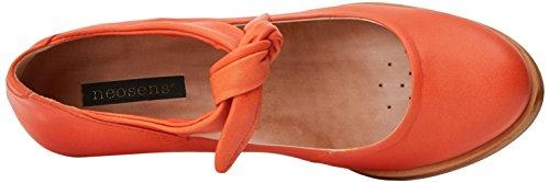 Neosens S938 Suave Carrot/Beba, Escarpins Bride Cheville Femme Orange (Carrot)