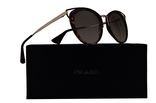 Prada PR66TS Sunglasses Pink Havana w/Light Grey Gradient 54mm Lens UE03H2 SPR66T PR 66TS SPR 66T by Prada