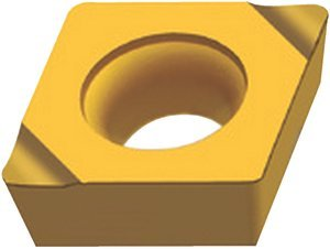 CCGT060204-X15 WAK15 1/4'' Size 06 CVD Carbide Drilling and Boring Insert, (Package of 10) by WALTER USA