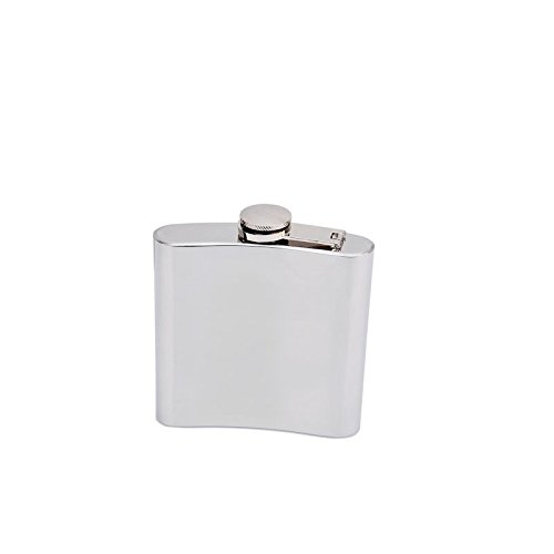 Generic YanHong-US3-160128-30 8yh2926yh lask & Funnel Polished Liquor Hip Hip Wine Al New 6 oz Stainless New 6 oz Wine Alcohol irror Pol Steel Mirror inless St Flask & Funnel
