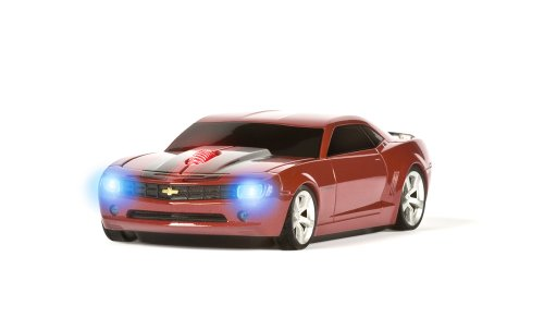 Road Mice Chevy Camaro HP -Wireless Mouse, Red/Black Stripes (HP-11CHCCRXK)