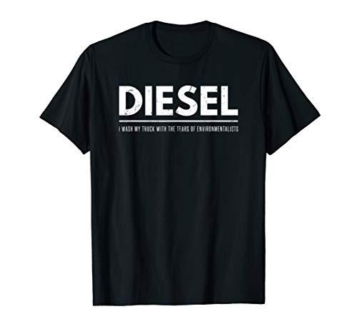 Apparel Diesel Womens (Diesel Wash Truck Tears Environmentalists T-Shirt Power Tee)