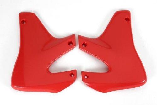 (UFO Plastics Radiator Cover Red for Honda XR 650R 00-07)