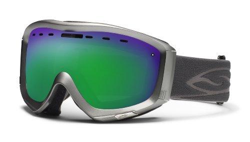 Smith Optics Prophecy Goggle (Graphite Frame, Green Sol X Mirror - Mirror Eyeglasses Virtual