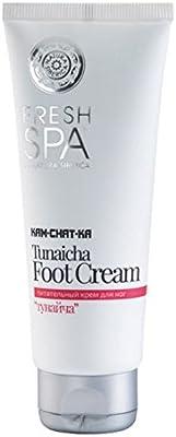 Natura Siberica Fresh Spa Kamchatka Tunaicha Nourishing Foot Cream 75Ml