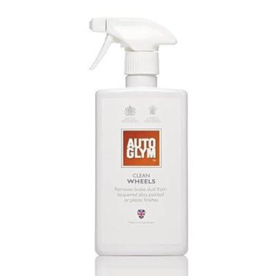 Autoglym - Nettoyant Clean Wheels de jantes alliage de voiture 500 ml avec brosse de nettoyage de roue