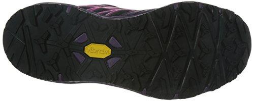 The North Face W Hedgehog Fastpack Lite Gtx, Botas de Senderismo para Mujer Negro / Rosa