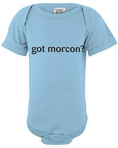 shirtloco Baby Got Morcon Infant Bodysuit, Light Blue 24 Months