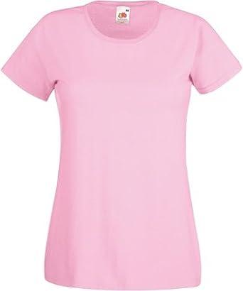 Fruit of the Loom Herren T-Shirt rosa Light Pink XXL