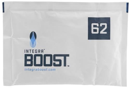 Integra Boost 67g Humidiccant Bulk 62% (100/Pack) – 2-Way Humidity Control Packs