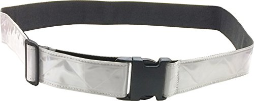 (FireForce Military 3M Hi Visibility Reflective Belt, Very Durable, Weather Resistant PT Belt Made in USA (White))