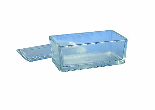 Thomas 900403 Staining Dish, with Cover, 213mm Length x 114mm Width x 83mm Height