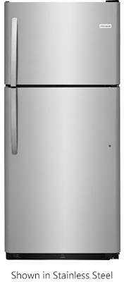 Frigidaire FFHT2032TP 30 Inch Freestanding Top Freezer Refrigerator with 20 cu. ft. Total Capacity, in Pearl White - 20 Cubic Foot Freezer