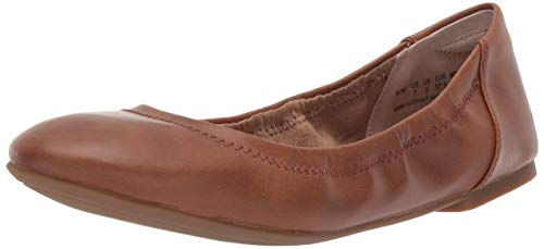 Amazon Essentials Women's Ballet Flat, Tan, 8 B US