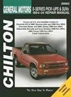 haynes chevrolet s 10 and gmc sonoma pickups 1994 thru 1998 haynes rh amazon com 92 GMC Sonoma 01 GMC Sonoma