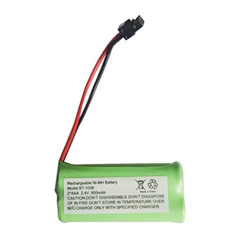 ❤Lemoning❤ 2PC 2.4V 800MAH BT166342 Battery for VTech E30021CL CL81211 Cordless Handsets