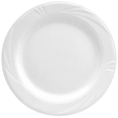 Bright Dinner (Oneida Foodservice R4510000119 Arcadia Dinner Plate, 6.5