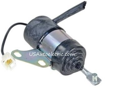 16851-60014, Denso 0526004531, 052600-4531, 052600-453, 052600-4530, Fuel Shut Off Replacement Solenoid For, Kubota -  USAutoelectric
