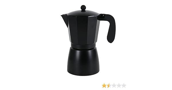 San Ignacio Cafetera 12T Soft Touch Darkblack Negro: Amazon.es: Hogar