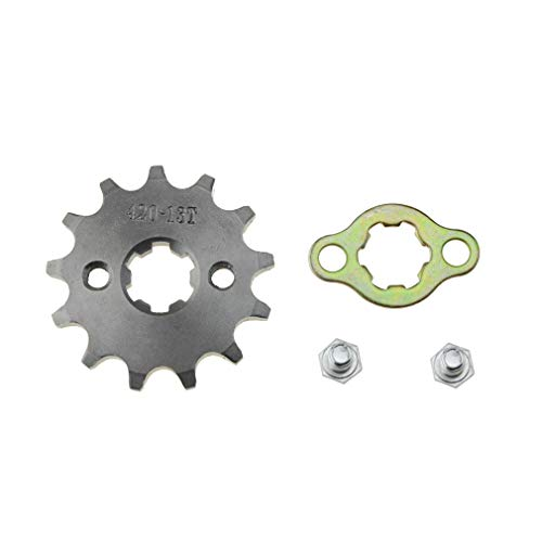 nt 420-13T 17mm for Motorcycle ATV Dirtbike ()