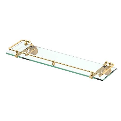 Gatco 1438 Glass Railing Shelf, -