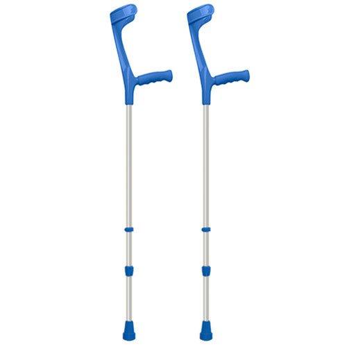 Economy Crutch - Adjustable Economy Crutches - BLUE Healthcare by Complete Care Shop