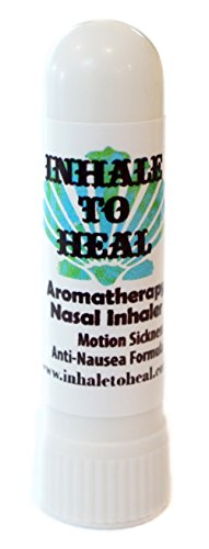 Inhale to Heal Motion Sickness Vertigo Anti-nausea Formula Aromatherapy Nasal Inhaler