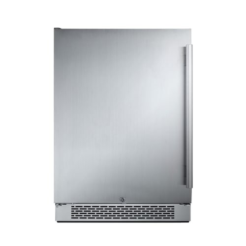 Avallon AFR241SSLH 5.5 Cu Ft 24' Built-In Refrigerator - Left Hinge