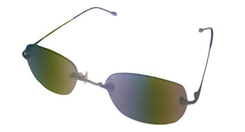 John Varvatos Men's V793 Round Polarized Sunglasses,Gunmetal,50 - Varvatos Sunglasses John