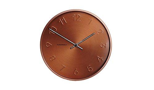 Cloudnola Trusty Copper Wall Clock