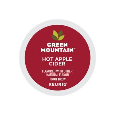 Green Mountain Naturals Hot Apple Cider, Keurig K-Cups, 72 Count