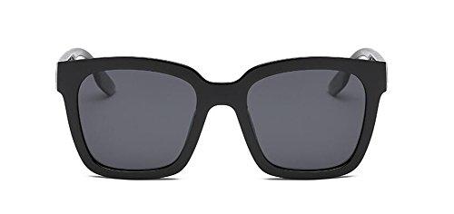Style Lunettes Noir Frêne Steampunk Cercle du Polarisées Femmes Rond en Métallique Pour et Retro Soleil Hommes de Inspirées FwxqrA4XF
