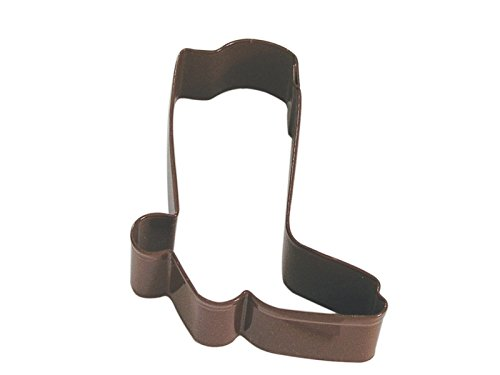 CybrTrayd RM-1339/Z-12LOT R&M Cowboy Boot Cookie Cutter (Set of 12), 3 inch, Brown