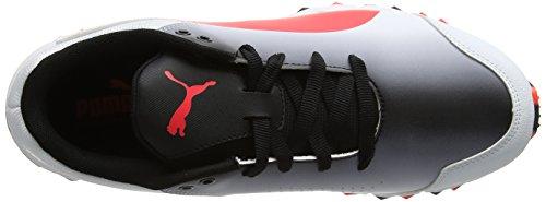 Puma Evospeed Fh de 360 Chaussures 4 Blanc Cricket White black Coral Homme fiery fgTtwqTd