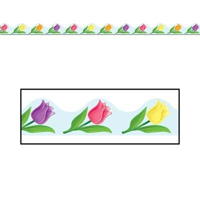 Beistle 50202 Spring Border Trim Party Accessory, 37-Feet