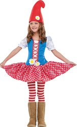 Gnome Girl Toddler Costume - Toddler Small