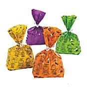 Peanuts Snoopy Pkg 12 Cello Party Treat Bags, Sacks Halloween