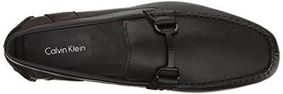 Calvin Klein Men's MOX Weave Emboss Driving Style Loafer