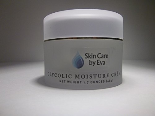 Skin Renewal Glycolic Moisture Cream 1.7 Oz - with Vitamins A, C & E loaded with fruit acids to shed dead dry dull skin and increase cell turnover, improve tone - Moisture Glycolic